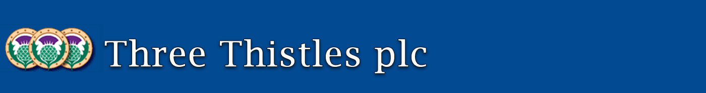Three Thistles plc